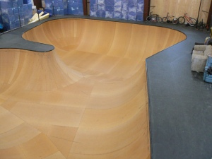 Skate bowl - We didn't build it but it is nice.