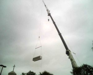 Crane set of MUA